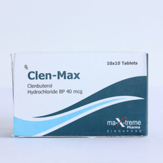 Ostaa Klenbuterolihydrokloridi (Clen) Suomessa | Clen-Max verkossa
