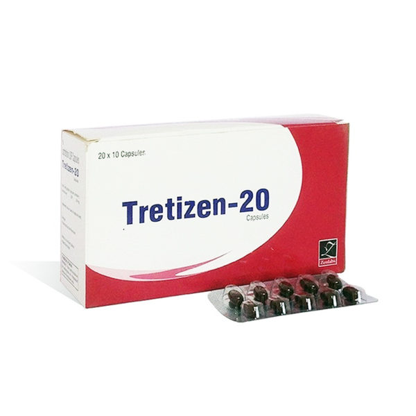 Ostaa Isotretinoiini (Accutane) Suomessa | Tretizen 20 verkossa