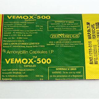 Ostaa amoksisilliini Suomessa | Vemox 500 verkossa